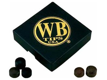WB Tips Cue Tips 13.5 mm - box of 50 tips