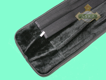 B11S10, Aska pool 1 butt 1 shaft cue bag, Blue