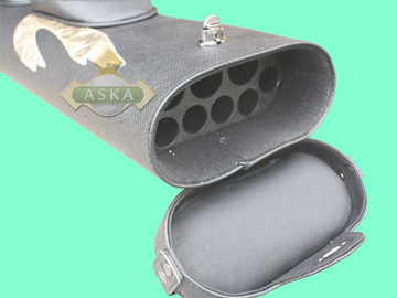 C36P04, Aska pool 3 butts 6 shafts hard cue case, Combo