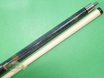 Billiard Pool Cue Stick Aska L17 Black