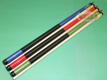 Aska L20 3 pool cue sticks