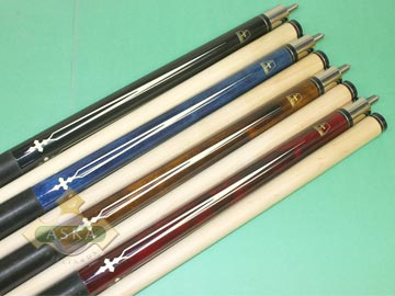 Aska L21 4 pool cue sticks