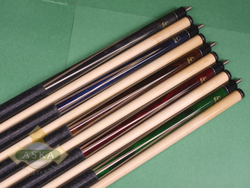 Aska L22 5 pool cue sticks set