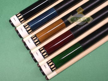 Aska L25 5 Billiard Pool Cue Sticks
