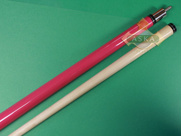 Billiard Pool Cue Stick Aska L18 Red
