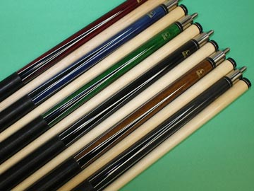 Aska L4 6 pool cue sticks