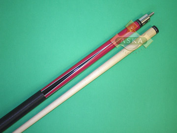 Billiard Pool Cue Stick Set Aska L2 Smoke + Jump Break + Cue Case 2x2