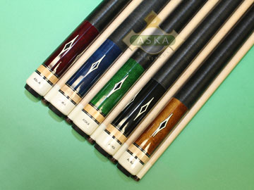 Aska L8 5 pool cue sticks