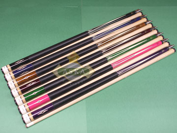 Aska L8 7 pool cue sticks set