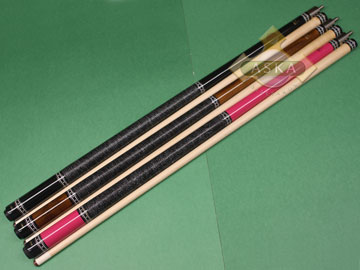 Billiard Cue SET 3PCS Aska L9 Irish Linen Wrap