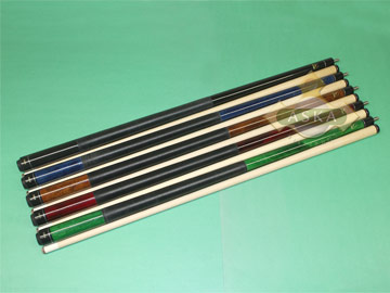 Aska LEC 5 pool cue sticks #1