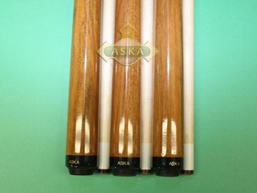 Aska Sneaky Pete SP1 3 pool cue sticks