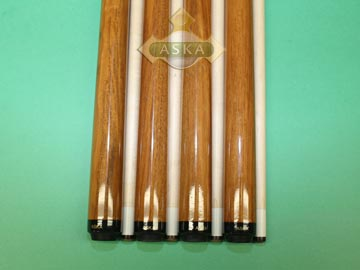 Aska Sneaky Pete SP1 4 pool cue sticks