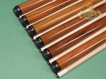Aska Sneaky Pete SP6 6 pool cue sticks