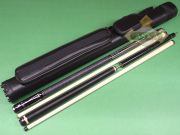 Billiard pool cue Falcon BS8 with Pool Cue Case 2x2, Jump Break Cue