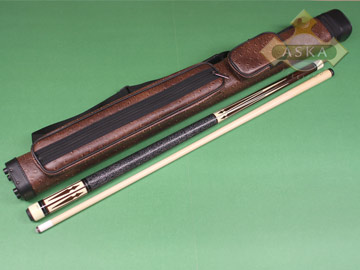 Billiard pool cue Falcon CO4 with Pool Cue Case 2x2