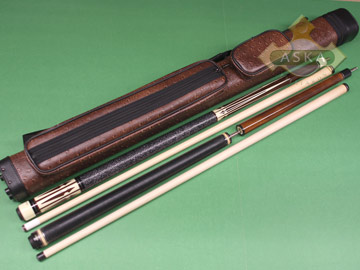 Billiard pool cue Falcon CO4 with Pool Cue Case 2x2, Jump Break Cue