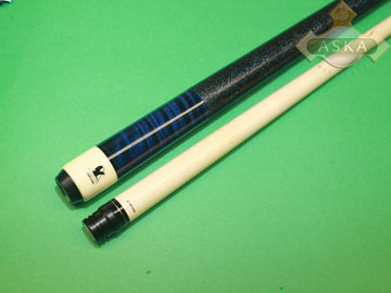 Falcon billiard pool cue Falcon CUR01BL blue curly