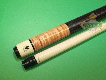 Falcon billiard pool cue Falcon CUR01BR brown curly
