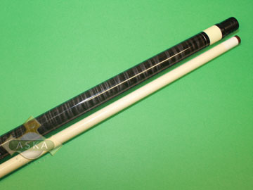 Falcon billiard pool cue Falcon CUR01CH gray curly