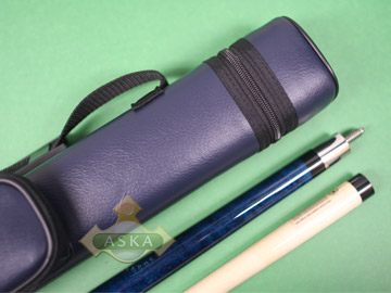 Billiard pool cue Set Falcon NF1 Blue + Blue Case 2x2
