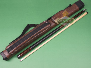 Billiard pool cue Set Falcon NF1 Brown + Brown Case 2x2