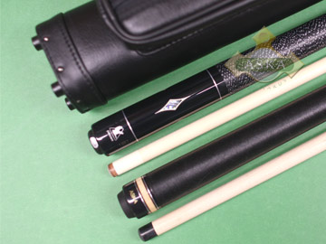 Billiard pool cue Falcon TS3 with Pool Cue Case 2x2, Jump Break Cue