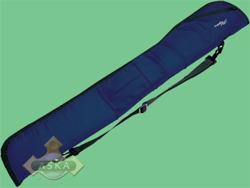 P4, Players pool 2 butts 2 shafts cue case, blue