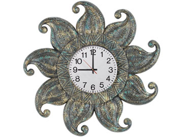 Decor, Tiffany, billiard lighting. Clock ODR279-C