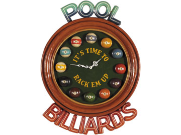 Decor, Tiffany, billiard lighting. Billiards clock R937