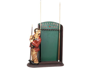 Decor, Tiffany, billiard lighting. Pool cue holder R951
