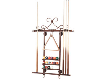 Decor, Tiffany, billiard lighting. Wall rack WR38 MAH