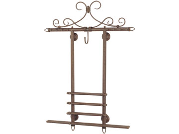 Decor, Tiffany, billiard lighting. Wall rack WR38 OB